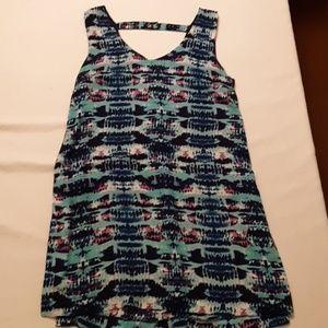 Olive + oak sleeveless dress
